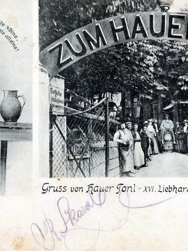 Wien 1905, Zum Hauer-Tonl