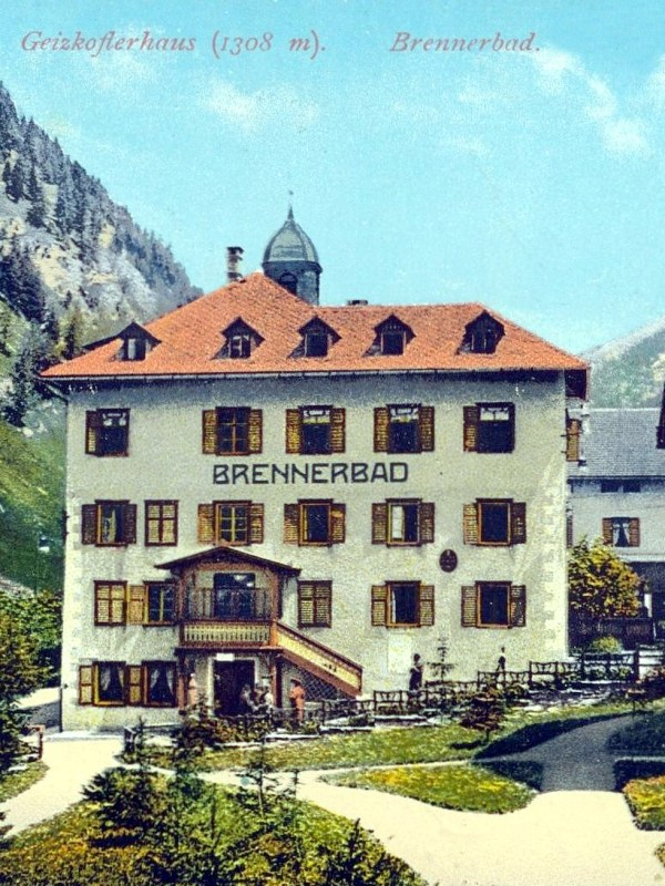 Brennerbad 1905, Geizkoflerhaus
