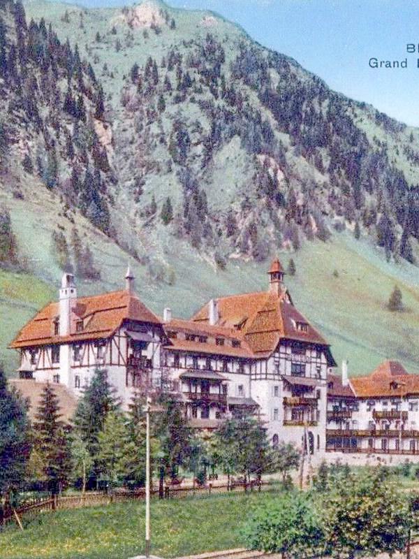Brennerbad 1910, Grandhotel