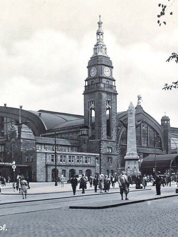 Hamburg 1935, Hauptbahnhof