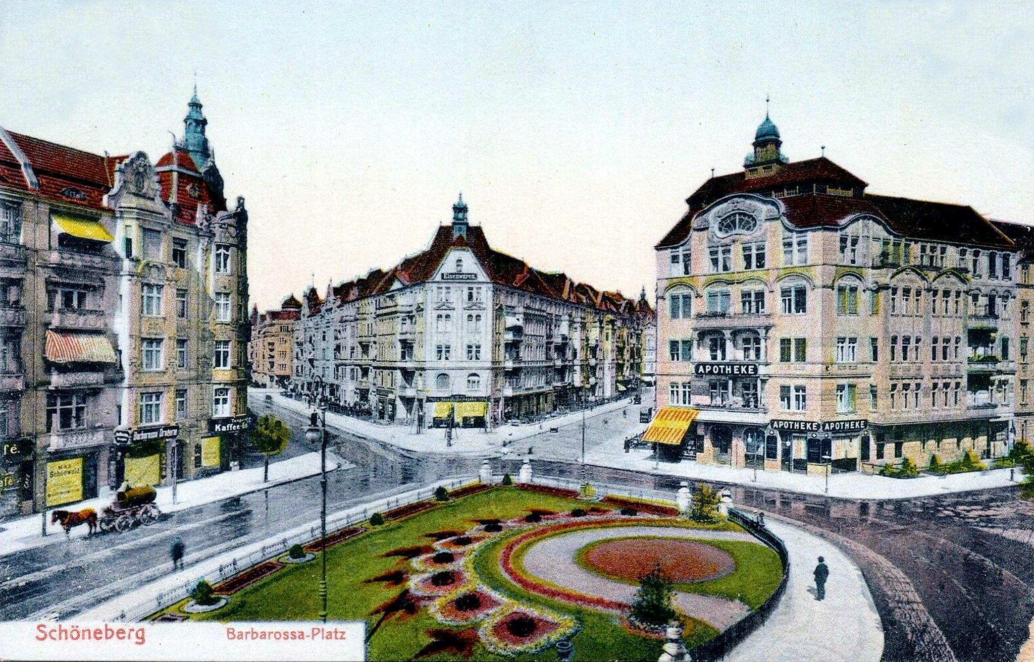 Berlin 1910, Barbarossaplatz