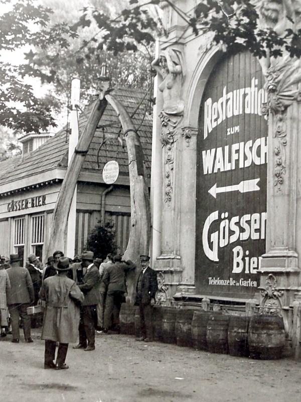 Wien 1930, Restauration zum Walfisch