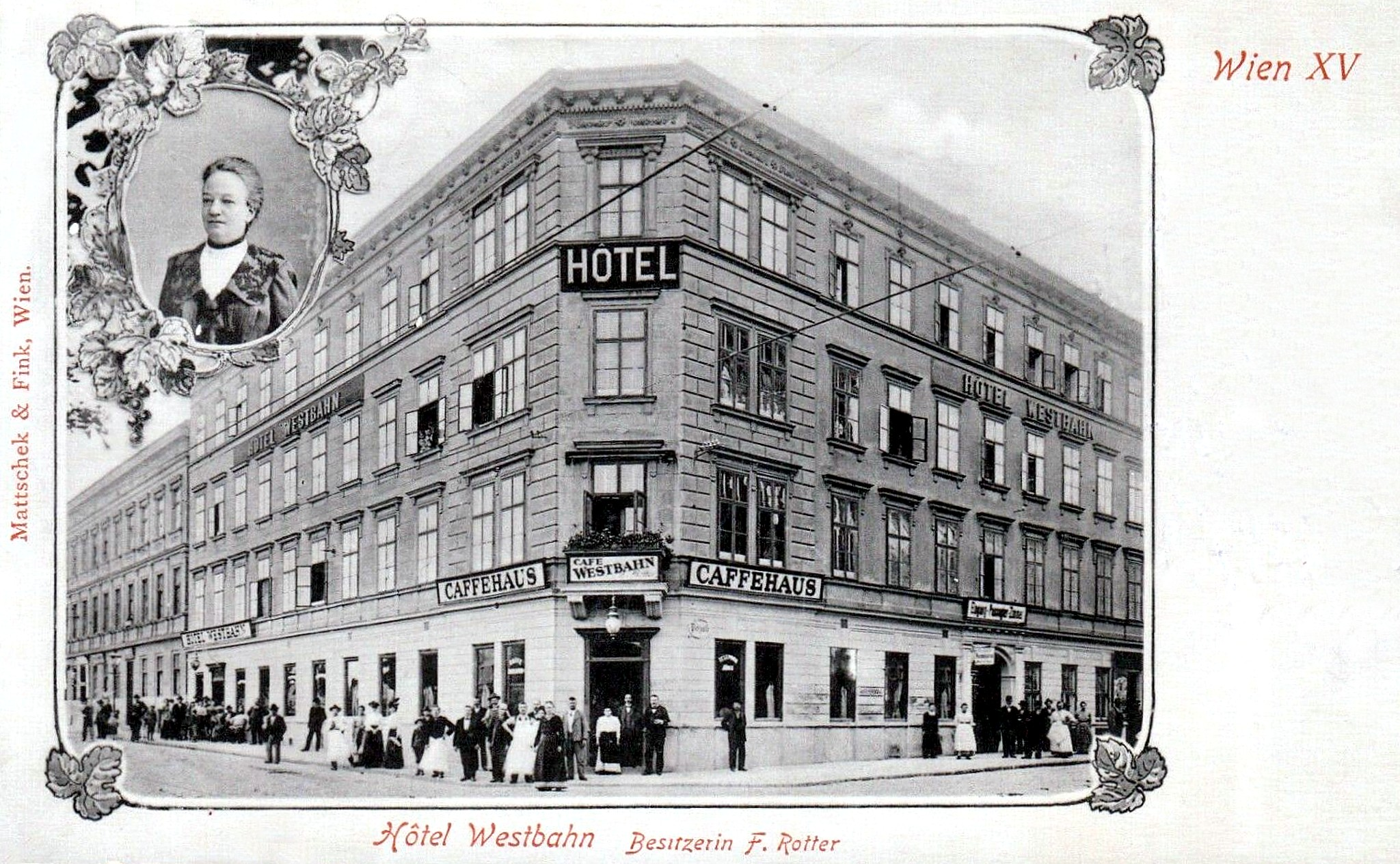 Wien 1906, Hotel Westbahn