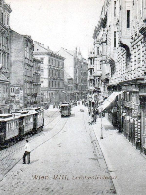 Wien 1905, Lerchenfelder Straße