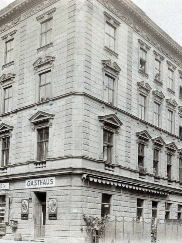 Wien 1910, Gasthaus