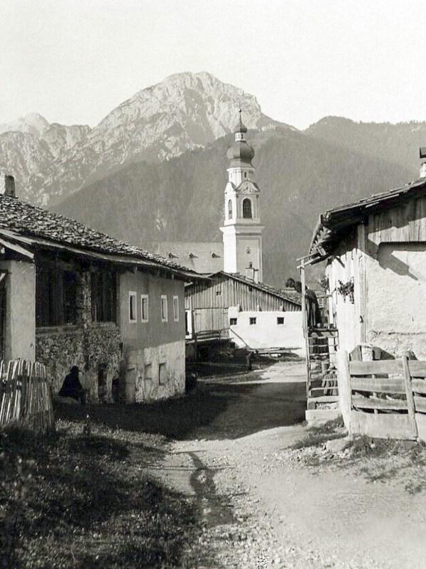 Toblach 1890, Straßenbild