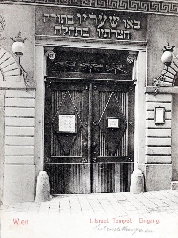 Wien 1901, Synagoge
