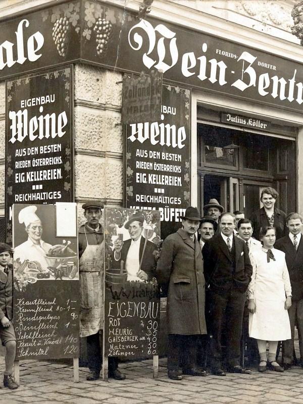 Wien 1930, Floridsdorfer Weinzentrale