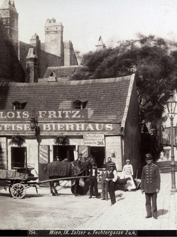 Wien 1901, Bierhaus zum Amselnest