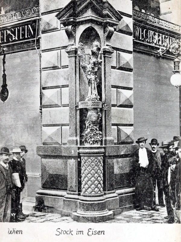 Wien 1899, Stock im Eisen