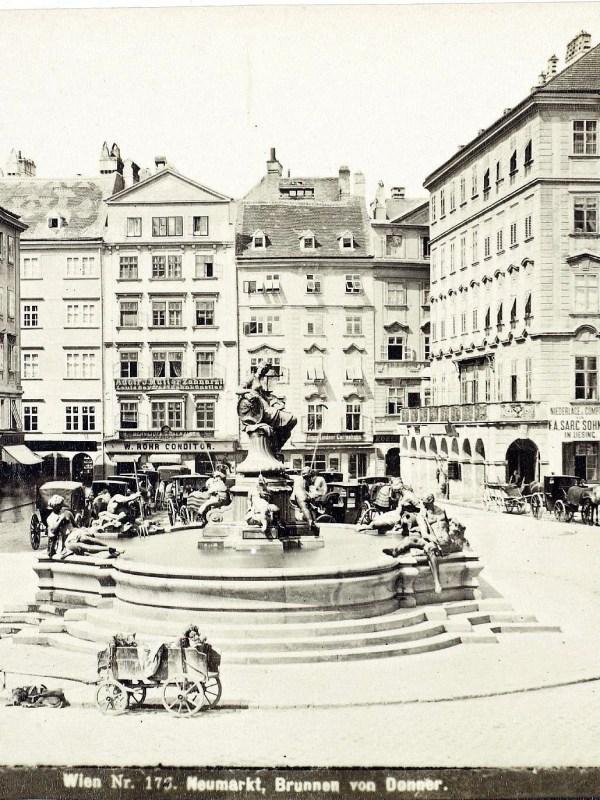 Wien 1880, Neuer Markt