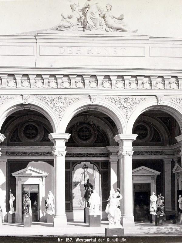 Wien 1873, Kunsthalle