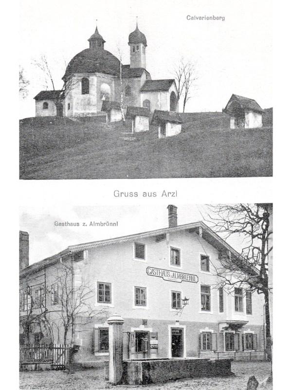 Innsbruck 1910, Gasthaus zum Almbrünnl