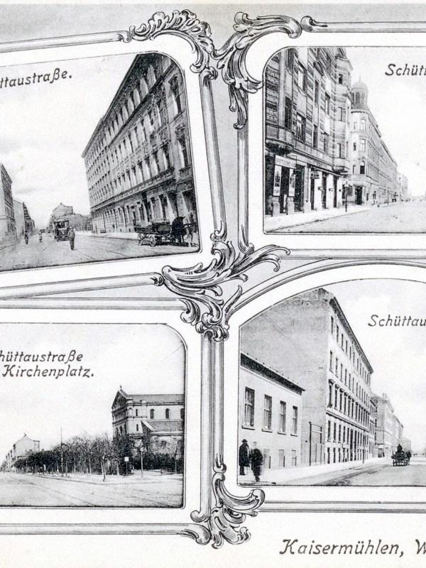 Wien 1905, Schüttaustraße