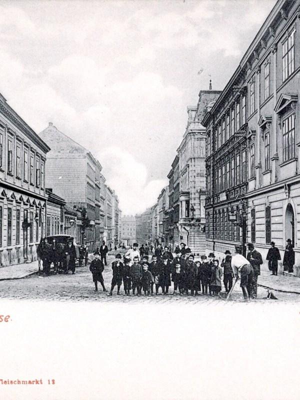 Wien 1903, Hotel zum Steinbock