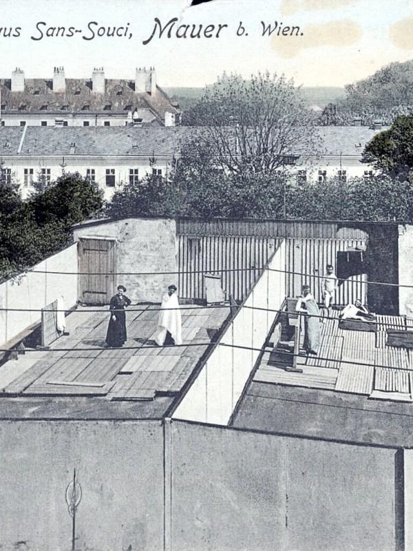 Wien 1905, Sonnenbad