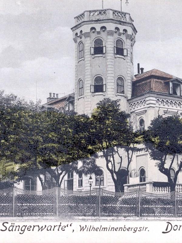 Wien 1906, Café Sängerwarte