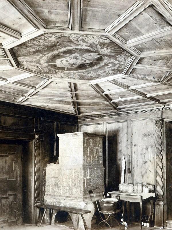 Burgeis 1898, Historische Stube