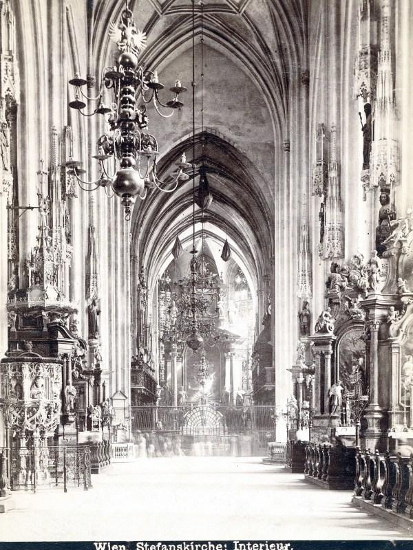 Wien 1890, Kirchenraum