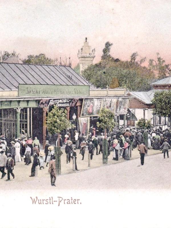 Wien 1903, Automobil-Karussel