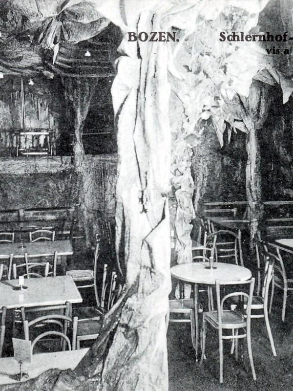 Bozen 1910, Schlernhof-Grotte