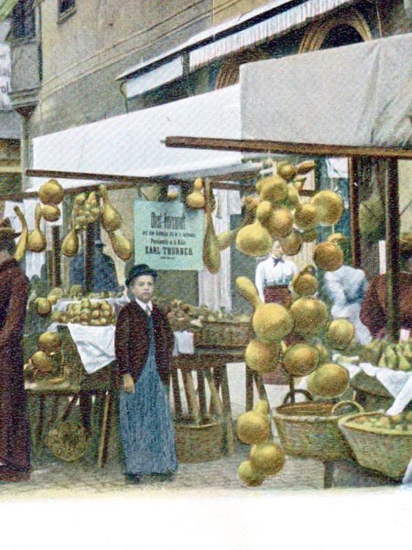 Bozen 1906, Obstplatz