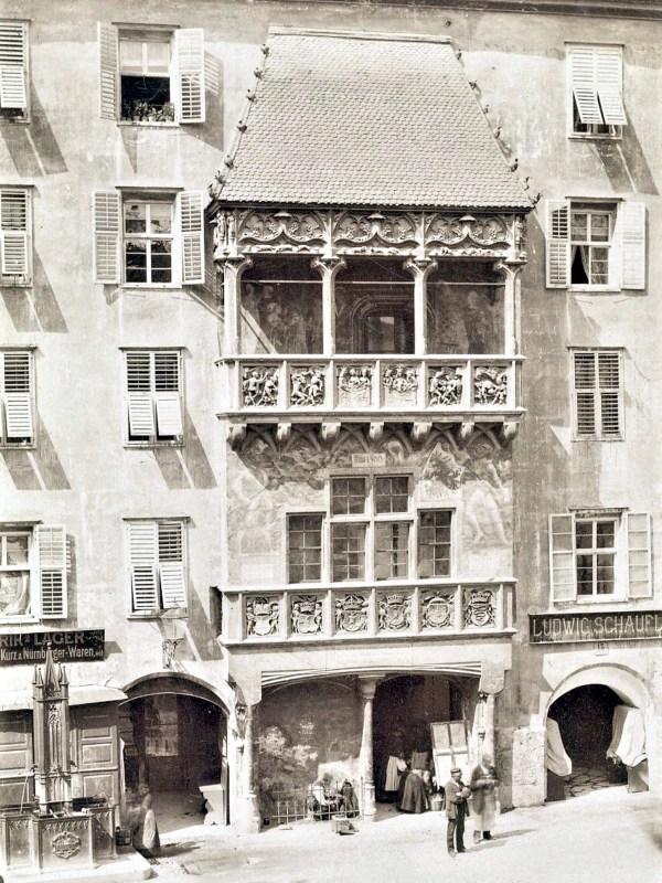 Innsbruck 1890, Goldenes Dachl