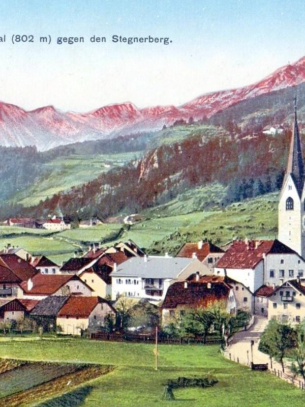St. Lorenzen 1910, Häuserbild