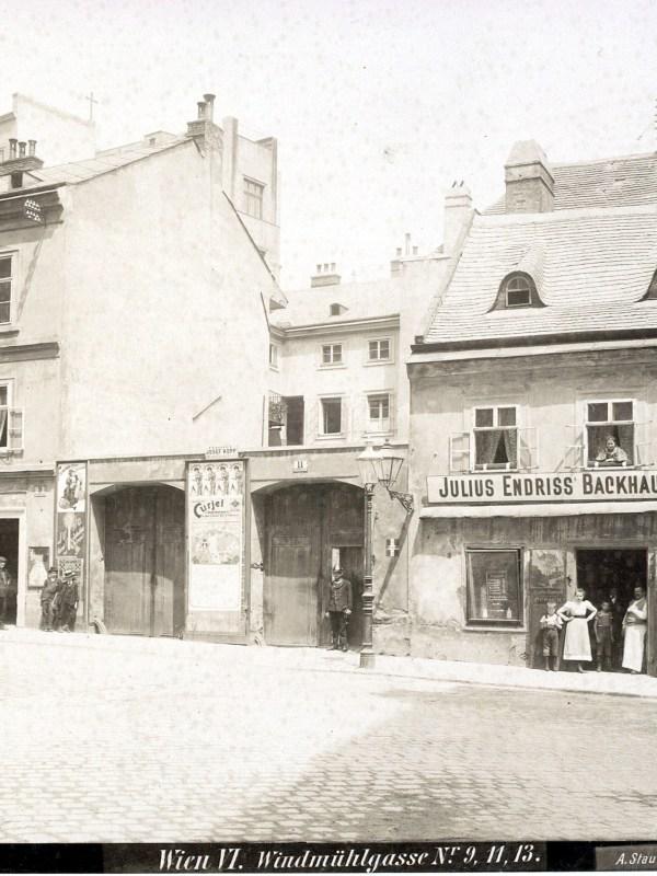 Wien 1899, Windmühlgasse