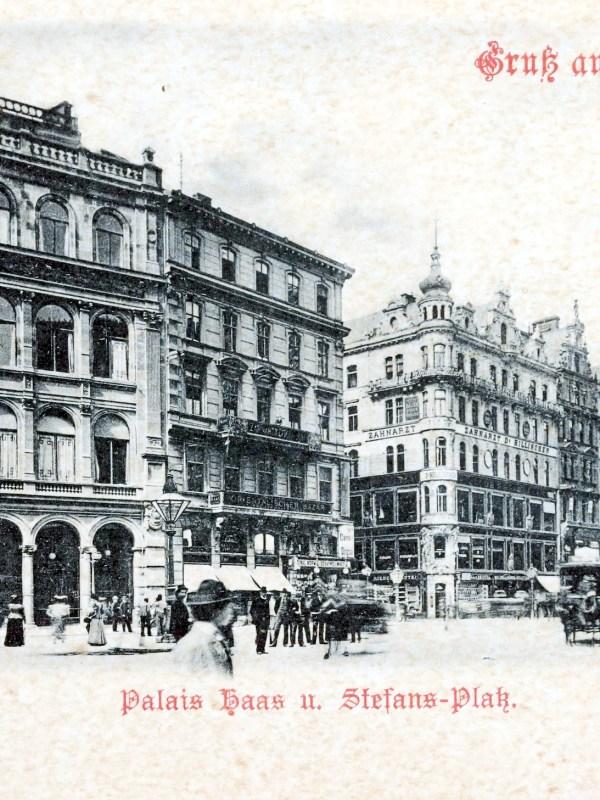 Wien 1898, Haashaus