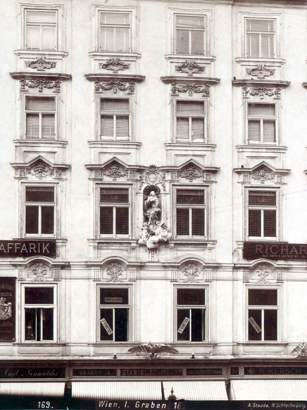 Wien 1899, Haus am Graben