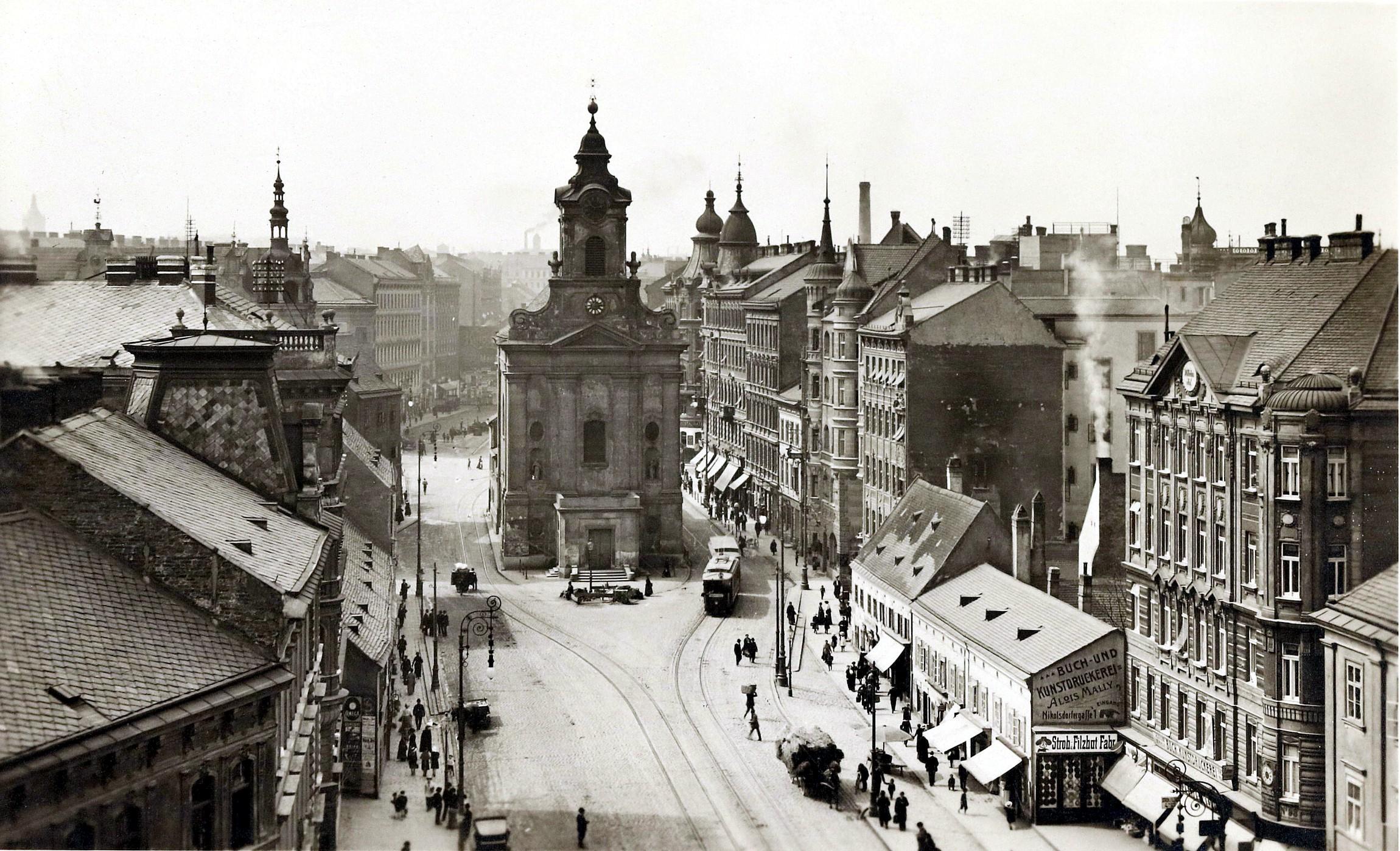 Wien 1910, Rauchfangkehrerkirche
