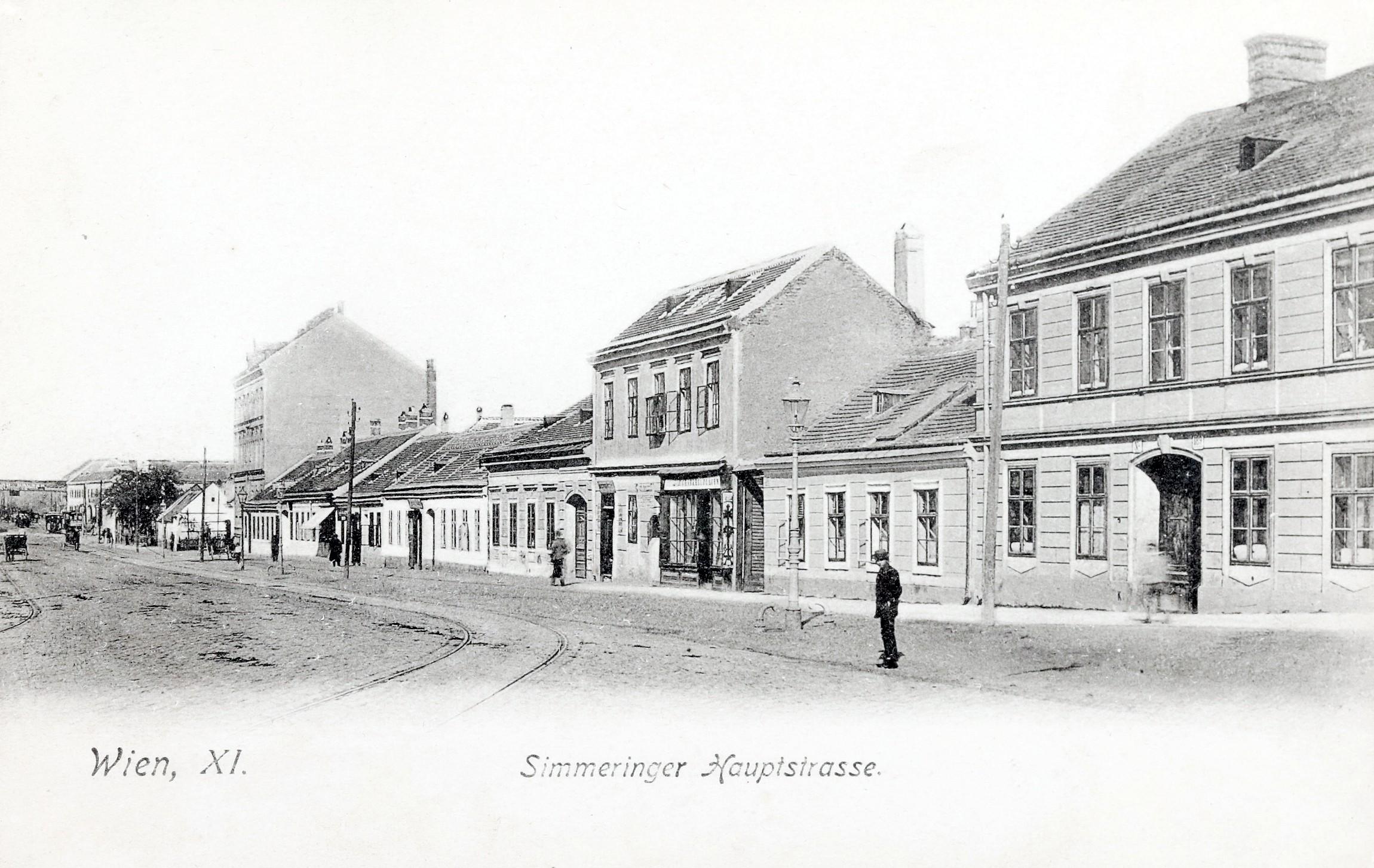 Wien 1903, Simmeringer Hauptstraße