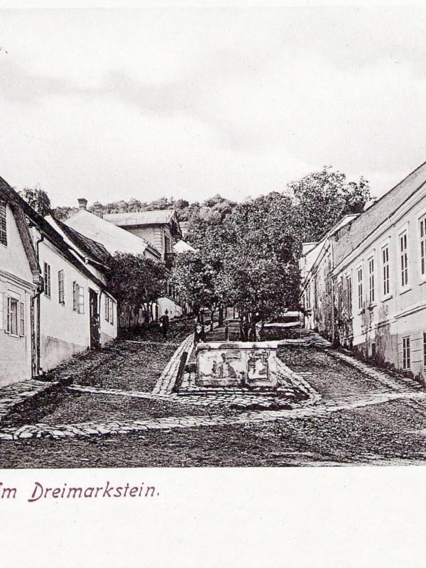 Wien 1903, Dreimarkstein