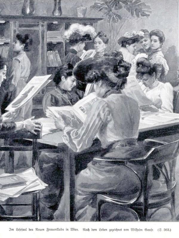 Wien 1904, Frauenklub