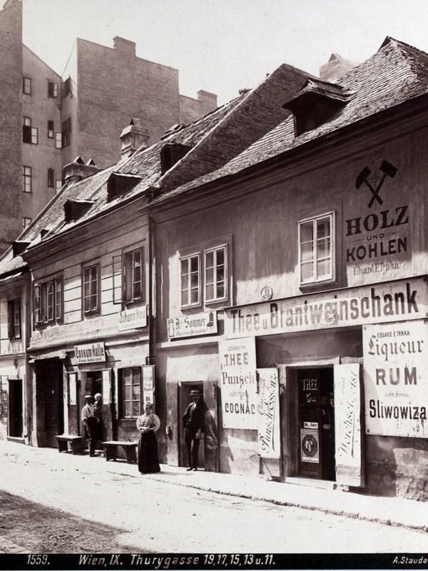 Wien 1899, Tee- und Branntweinschank