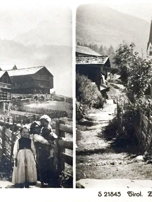 Ahornach 1900, Dorfbild