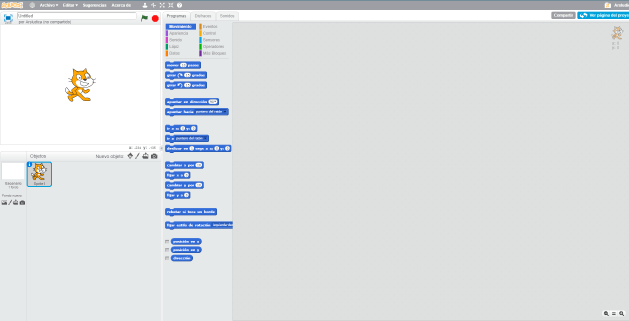 Entorno Scratch