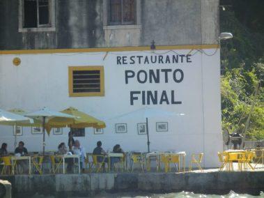 Almada, Calcihas, Lisboa, restaurante Ponto Final