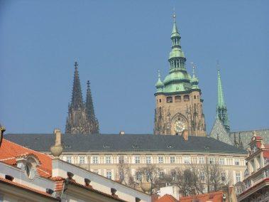 Praga, cimborrio de la Catedral de San Vito