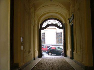 Praga, pasaje en Nerudova ulice