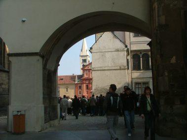 Praga, explanada del Castillo