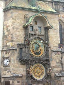 Praga, reloj del ayuntamiento