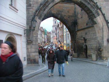 Praga, Mostecká ulice