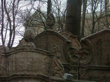 Praga, cementerio judío, tumba de Mordechaj Maisel