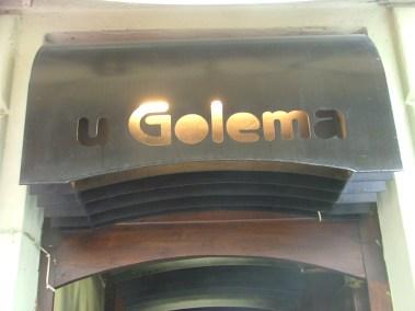Praga, restaurante U Golema