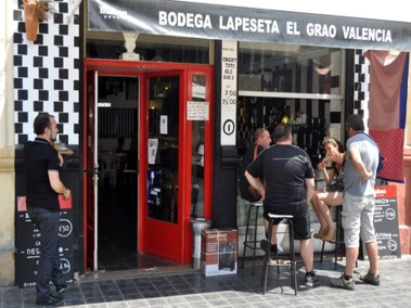 La Peseta, calle, Cabanyal, Valencia