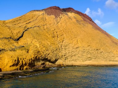 Montaña Amarilla, San Migue de Abona, Tenerife, Islas Canarias