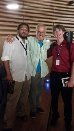 The day my friend Jeremiah and I met Harry Sparnaay in Madrid, Spain