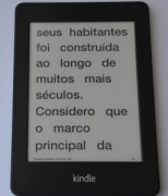 Kindle Paperwhite - corpo grande
